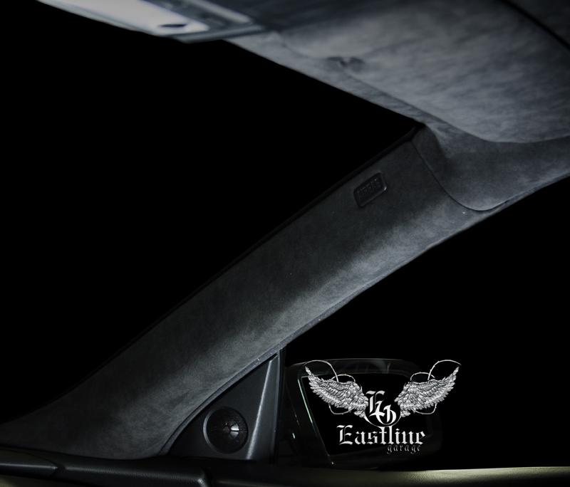 Тюнинг-ателье Eastline Garage. Самоклеющаяся алькантара и кожзам! 95