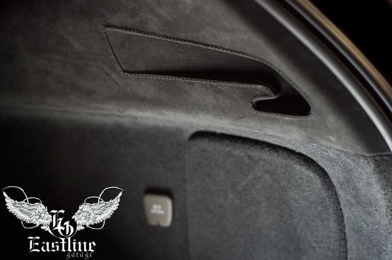 Тюнинг-ателье Eastline Garage. Самоклеющаяся алькантара и кожзам! 133