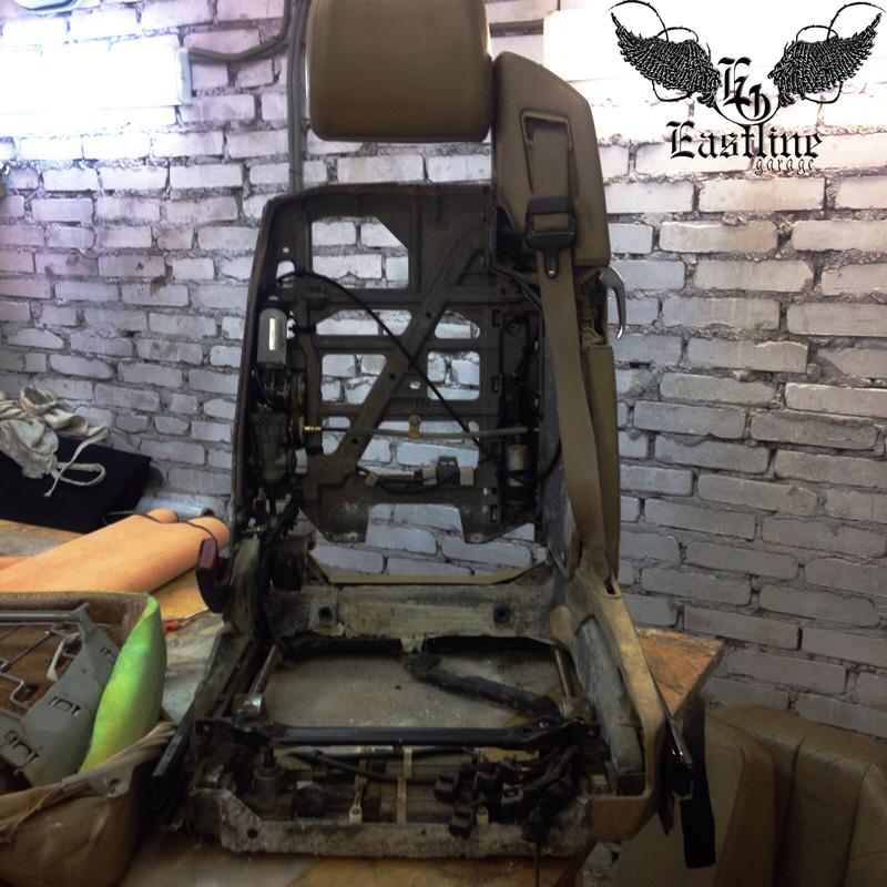 Тюнинг-ателье Eastline Garage. Самоклеющаяся алькантара и кожзам! 38