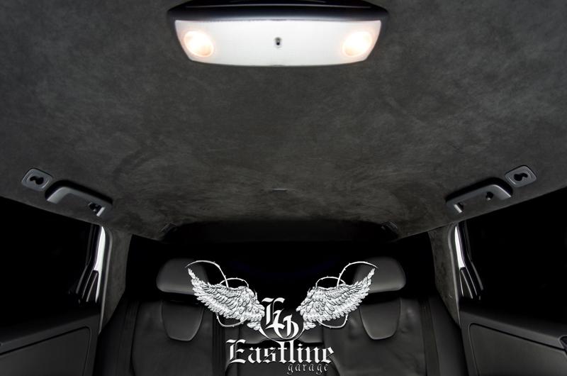 Тюнинг-ателье Eastline Garage. Самоклеющаяся алькантара и кожзам! 96
