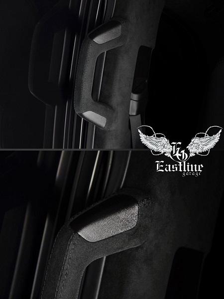 Тюнинг-ателье Eastline Garage. Самоклеющаяся алькантара и кожзам! 115