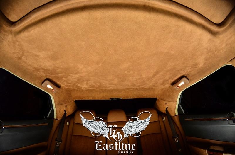 Тюнинг-ателье Eastline Garage. Самоклеющаяся алькантара и кожзам! - Страница 2 7