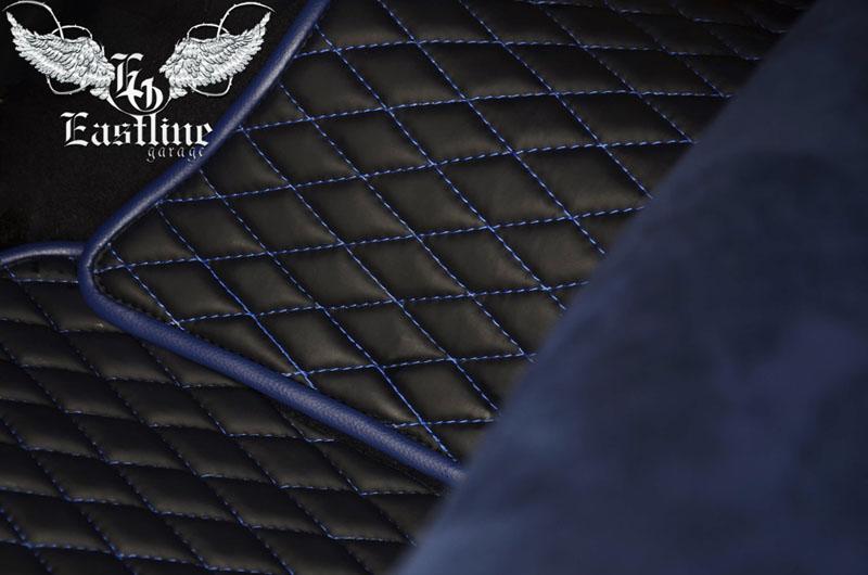 Тюнинг-ателье Eastline Garage. Самоклеющаяся алькантара и кожзам! 17