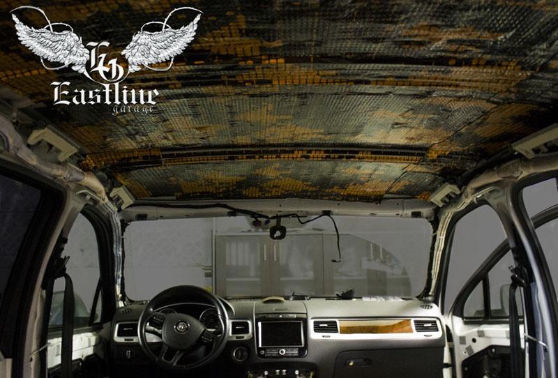 Тюнинг-ателье Eastline Garage. Самоклеющаяся алькантара и кожзам! - Страница 2 35