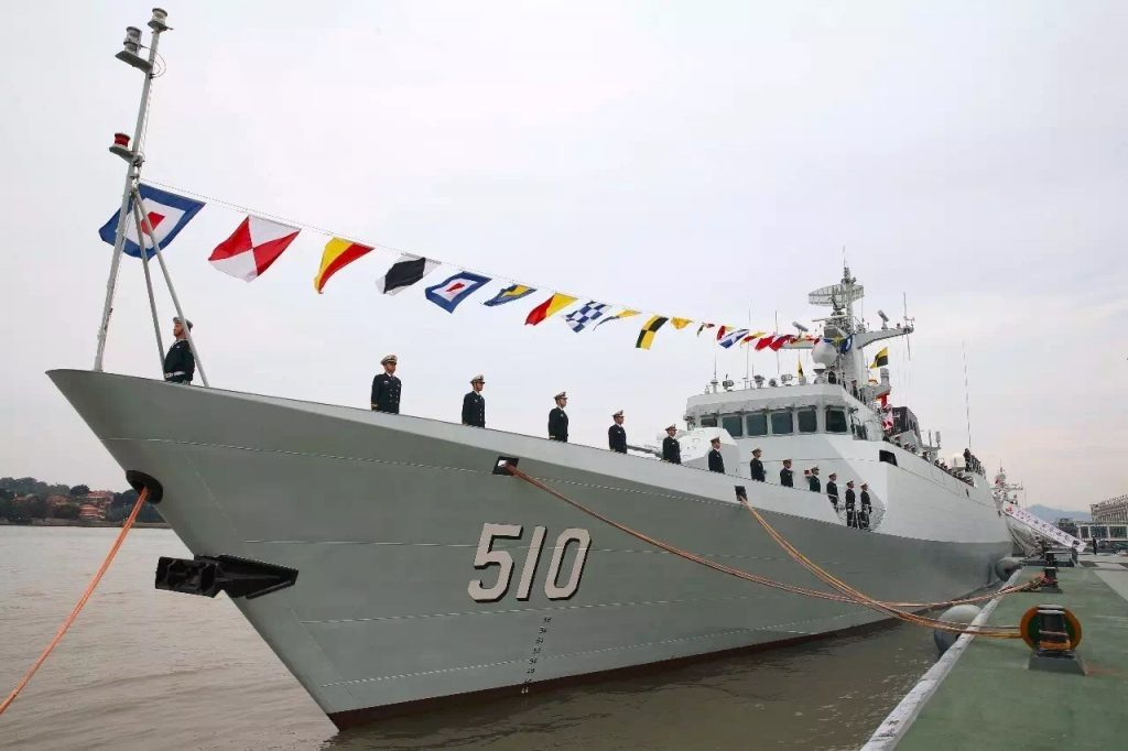Armée Chinoise / People's Liberation Army (PLA) - Page 3 2016-12-29-La-30%E1%B5%89-corvette-Type-056-admise-au-service-actif-01-1024x682