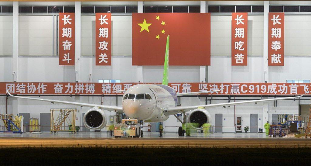 [Aviation] C919, Premier avion de ligne single-aisle chinois - Page 2 2017-01-09-Le-C919-pr%C3%A9pare-son-vol-inaugural-pour-fin-F%C3%A9vrier-2017-02-1024x546