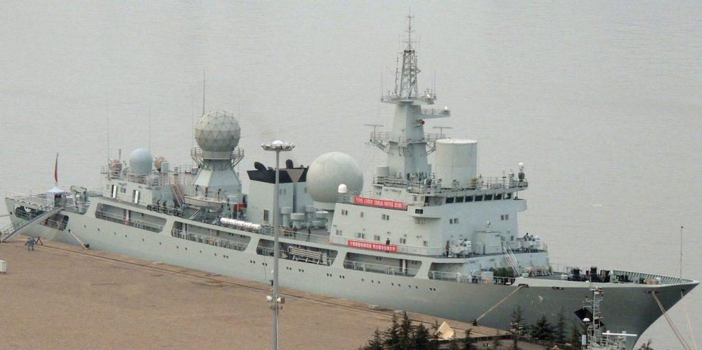 Type 815 - Navire Collecteur de Renseignements (SIGINT) 2017-01-10-Admission-au-service-actif-dun-navire-espion-Type-815A-01-1024x511