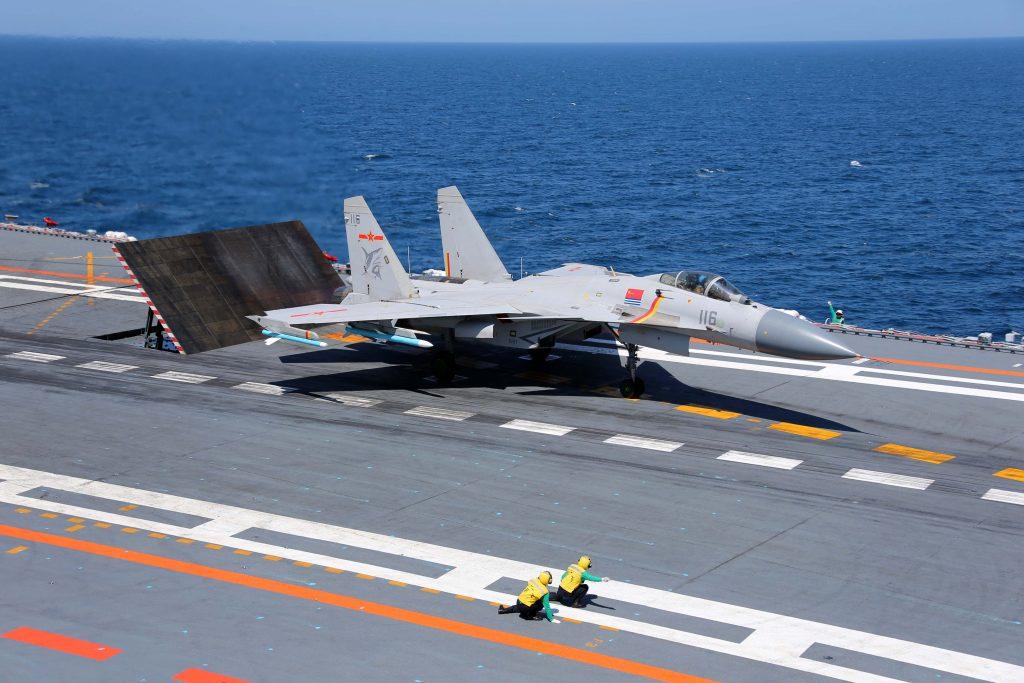Type 001 (ex Varyag) - Porte-Avions STOBAR - Page 23 2017-07-05-Le-porte-avions-Liaoning-man%C5%93uvre-dans-lADIZ-ta%C3%AFwanaise-08-1024x683