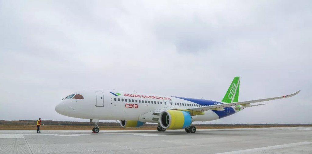 [Aviation] C919, Premier avion de ligne single-aisle chinois - Page 3 2017-12-05-Le-2e-C919-se-pr%C3%A9pare-pour-son-vol-inaugural-dici-fin-2017-10-1024x508