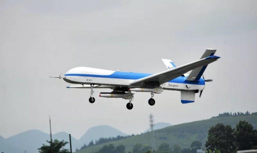 [Aviation] Drones & Drones de Combat Chinois - Page 13 2018-07-13-Vol-inaugural-du-drone-Harrier-II-version-arm%C3%A9e-02-1024x612