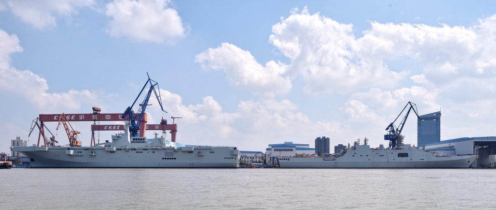 Type 075 - LHD 2019-09-29-Type-075-la-Chine-lance-son-premier-porte-h%C3%A9licopt%C3%A8res-07-1024x434
