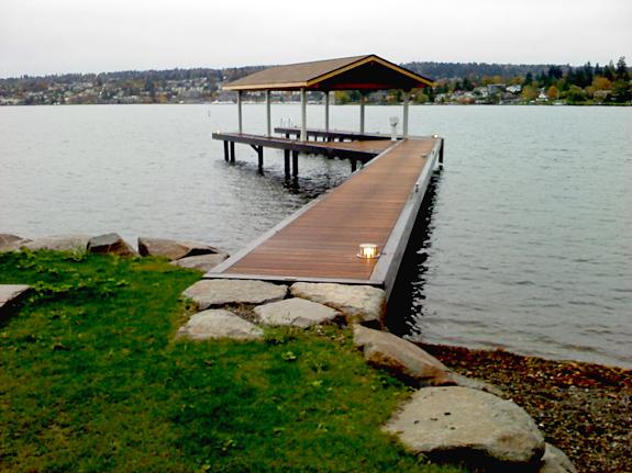 La Grande Maison [Stephanie + Tim] Lakewash_teak_dock4