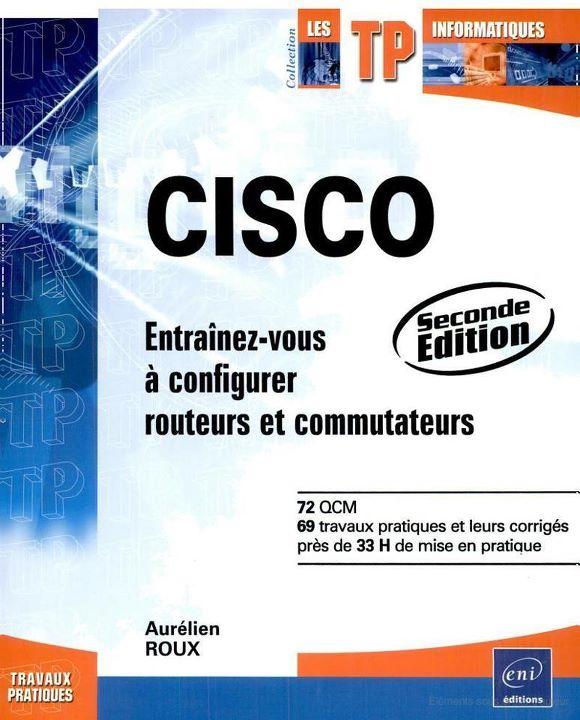 Livre Cisco : Entraînez-vous à configurer routeurs et communtateurs Entrainez.2012312213934