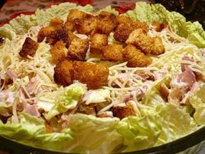 Кулинарные рецепты Salat-tcezar
