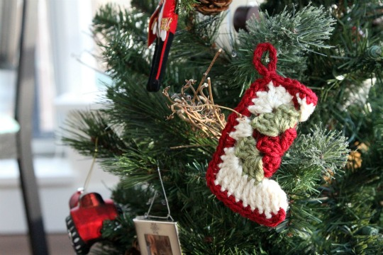 Christmas in July!...Let's make some ornies!!! Crochet-stocking-christmas-ornament