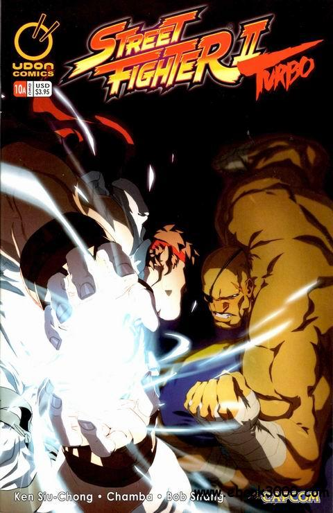 Streetfighter II Turbo #10 (Ongoing) 0339310
