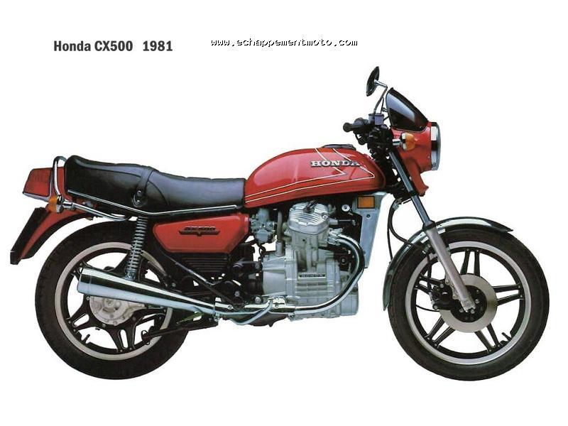 Les motos les plus moches de l'histoire ! (notre palmarès)  - Page 2 Honda%20CX500%201981%20echappement%20origine