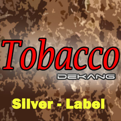 "Le ""Adam Bomb"" Dekang-e-liquid-silver-label-10ml-tobacco"