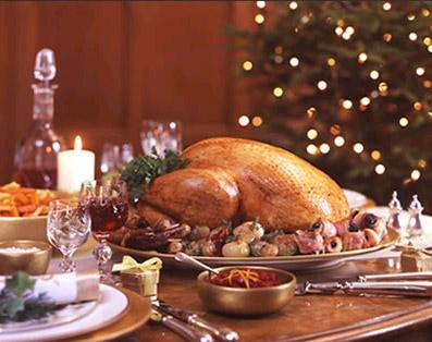 ПРАЗДНИЧНЫЙ СТОЛ Cooking-christmas-turkeys
