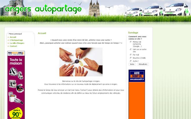Covoiturage,autopartage, autres usages de la voiture Angers-autopartage-cityzen-