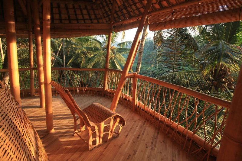 Une maison, un paysage - Page 2 Green-village-bali-indonesie