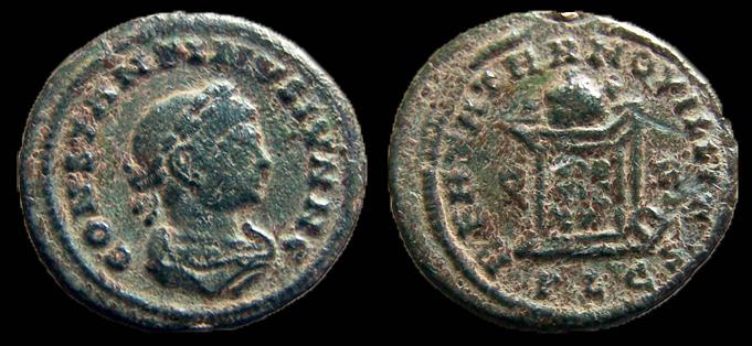 Constantin II nummus AE4 ConsII