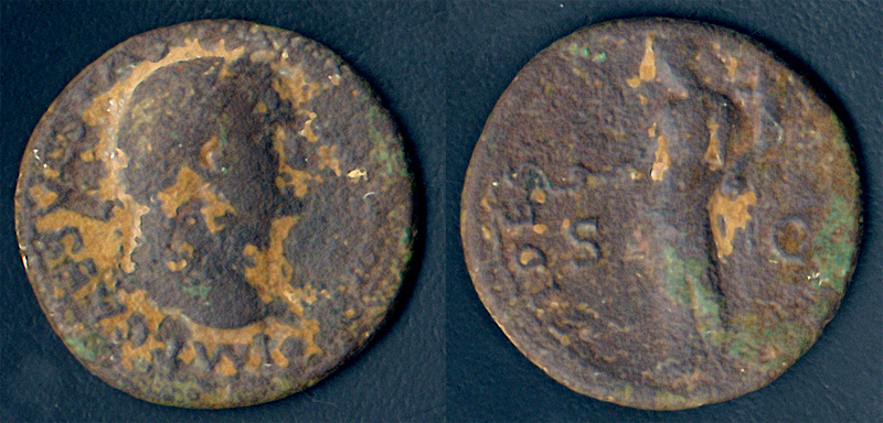 As Vespasien : FIDES FORTVNA ou PVBLICA ? Vespasien