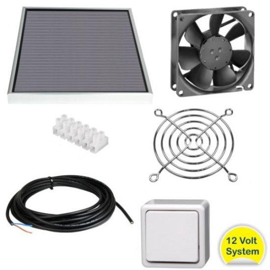 Kit de confinement Koekraf_ventilateur_solaire