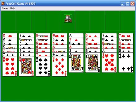 XP Igre Shortcut-free-cell-card-game-freecell