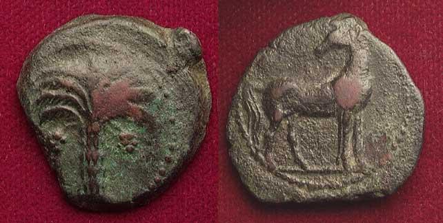 bronce púnico  B4082