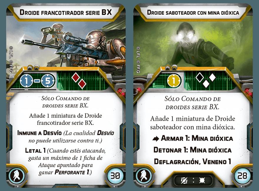 Fuerzas Especiales - Droides Comando  SWL72_upgrade-cards_ES02