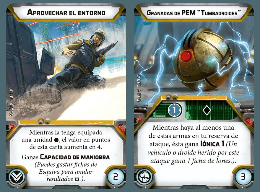 Fuerzas Especiales - Droides Comando  SWL72_upgrade-cards_ES03