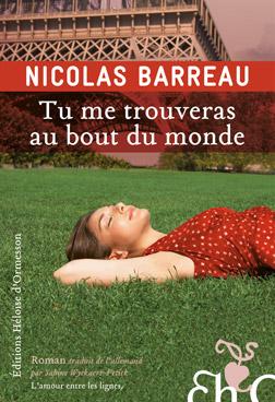 Tu me trouveras au bout du monde de Nicolas Barreau Eho-barreau2c