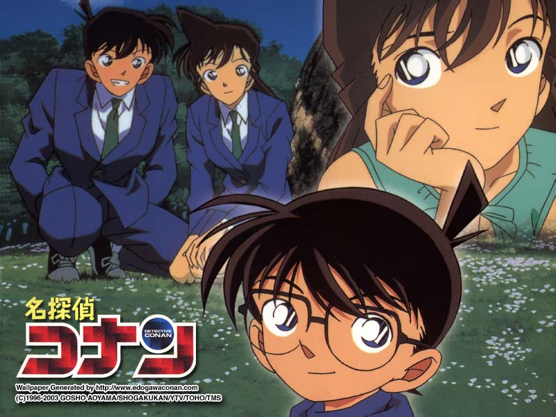 [Sưu tầm] Album ShinRan Wallpaper: Call It Destiny For You And Me Conan163