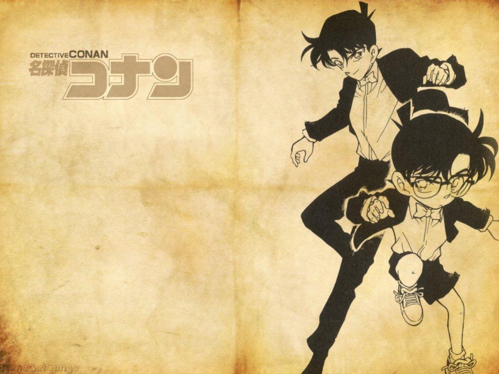 """[Pic] Wallpaper """"độc"""" cho DC đây!!! ^^ Conan%20%26%20shinichi"""