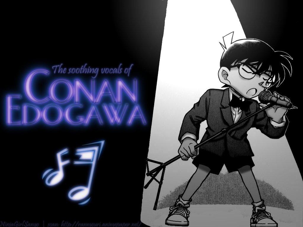 """[Pic] Wallpaper """"độc"""" cho DC đây!!! ^^ Conan%20singing"""