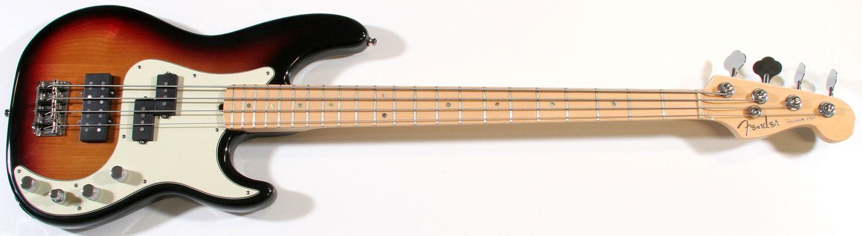Baixos com captação MM/P Fender-usa-precision-bass