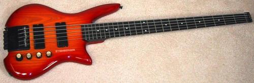 Achiles NH-1 Custom Headless Bass Sunburststb878