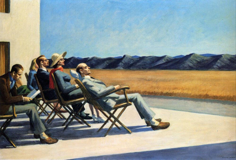 Motivos modernos (Pintura, Fotografía cosas así) People-in-the-sun