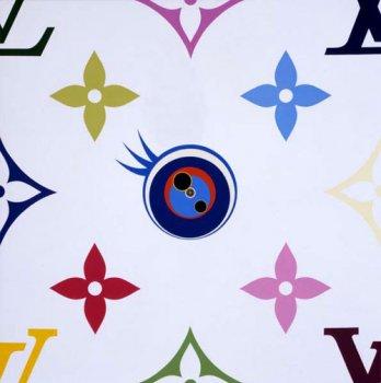 [Artiste] Takashi MURAKAMI 3401_eye_love_monogram_(white)_