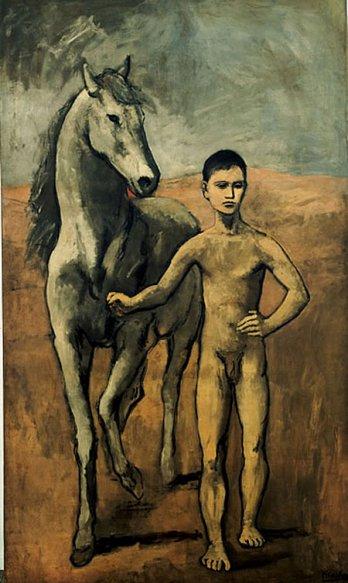 Pour vous mesdames 7194_meneur_de_cheval_nu_pablo_picasso_1905_1906