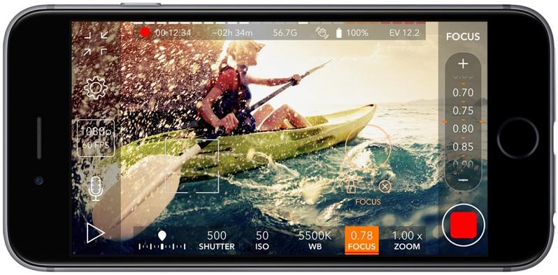 تطبيق ProMovie Recorder لتصوير الفيديو بدقة 4K للايفون وتعديله ProMovie-Recorder1