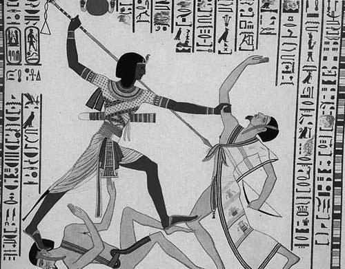 Les pharaons étaient noirs origine des anciens égyptiens Ramses-libyens
