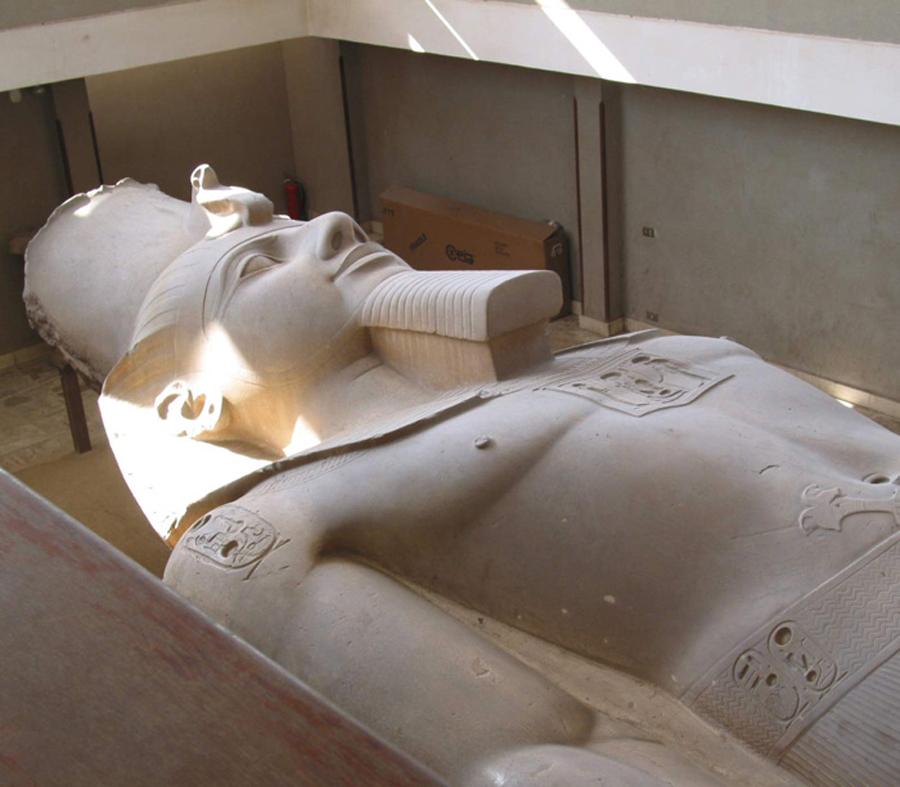 Les pharaons étaient noirs origine des anciens égyptiens Nouvel_empire_memphis_ramse