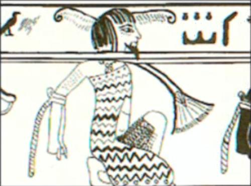 Origine africaine des sciences mathématiques Prisonnier-pharaon-egyptien-ancien