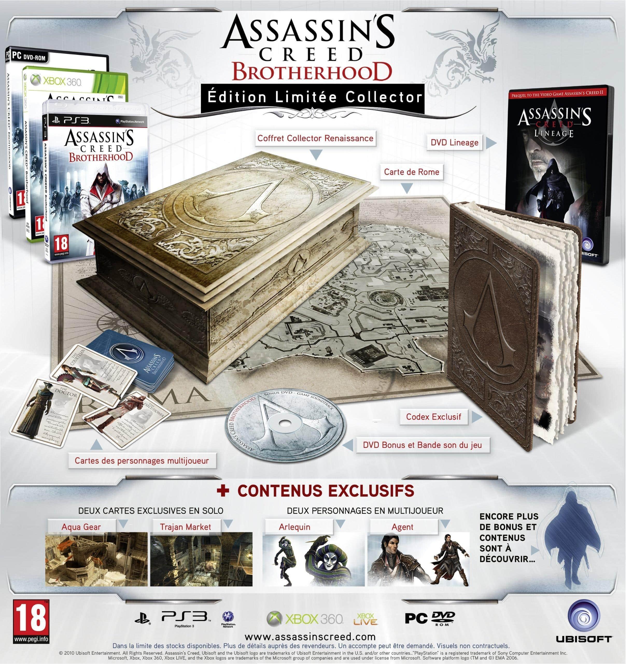Assassin's Creed : Brotherhood  Assassins-Creed-Brotherhood-Edition-Codex