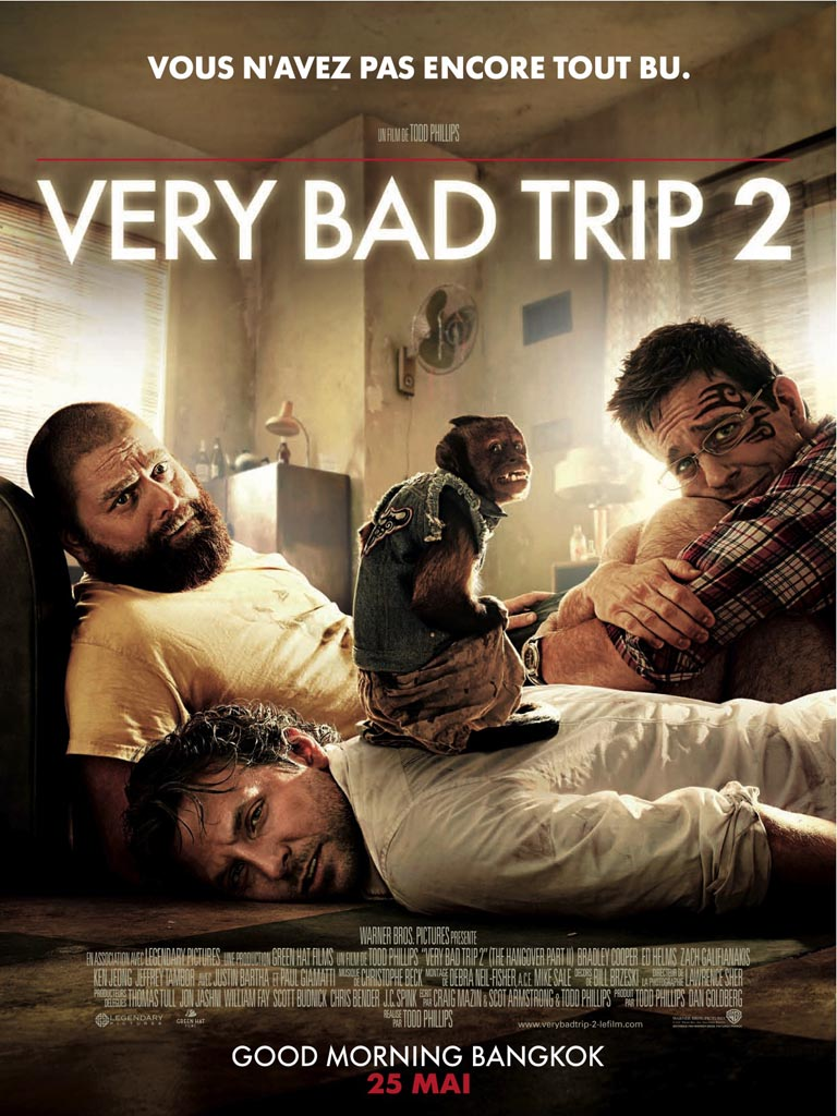 Very Bad Trip 2 (2011) Comédie Very-Bad-Trip-2-Affiche-FR-01