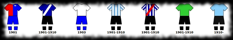 Selección Uruguaya de Fútbol Evolucion-camiseta