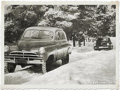 Gaz M-72 Pobeda 1955 - El primer SUV de la historia 4x4_M72