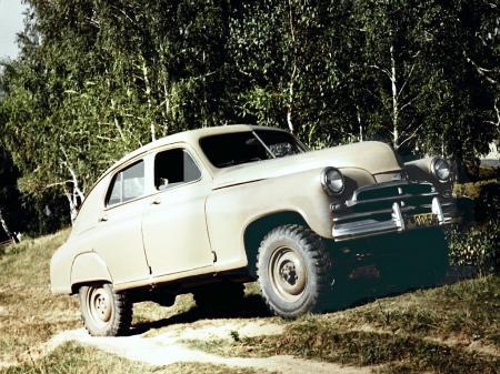 Gaz M-72 Pobeda 1955 - El primer SUV de la historia Gaz_m-72_450